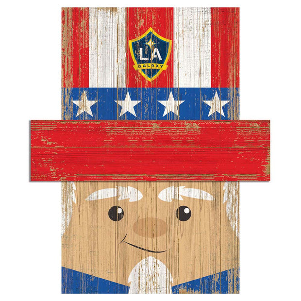 Uncle Sam Loves The LA Galaxy Wall Art