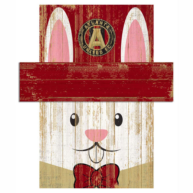 Easter Bunny Loves The Atlanta United FC Wall Plaque