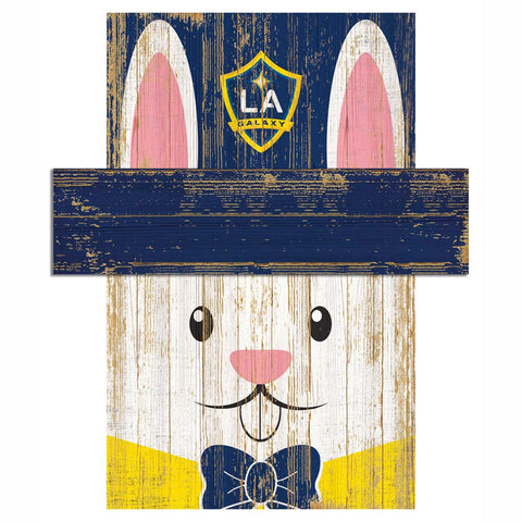 Easter Bunny Loves The LA Galaxy Wall Plaque