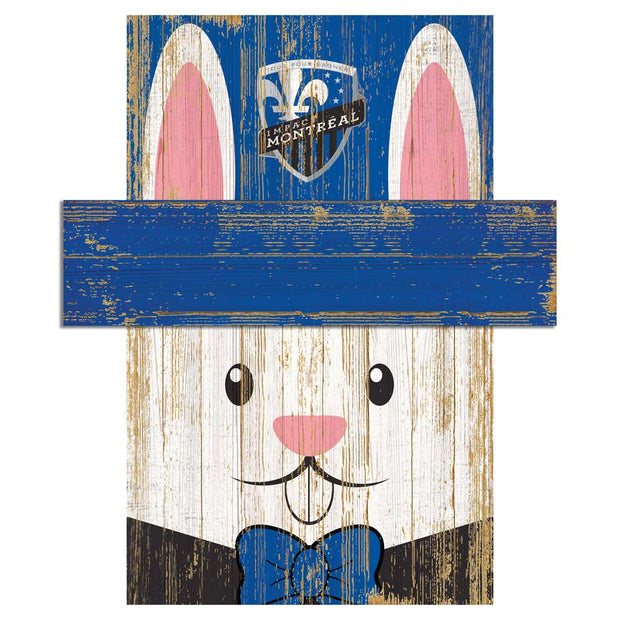 Easter Bunny Loves The Montreal Impact Wall Plaque