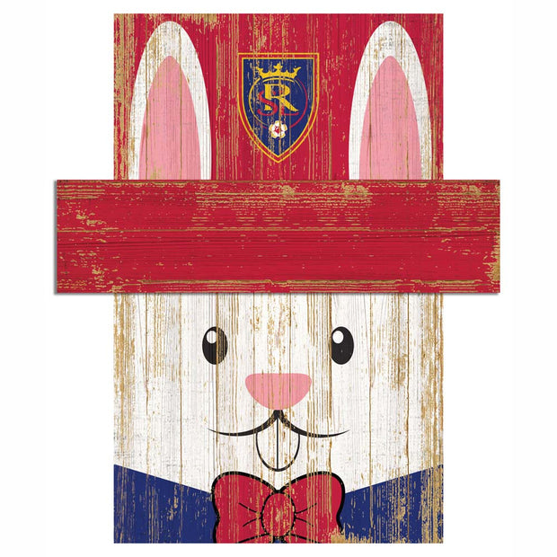 Easter Bunny Loves The Real Salt Lake Wall Plaque