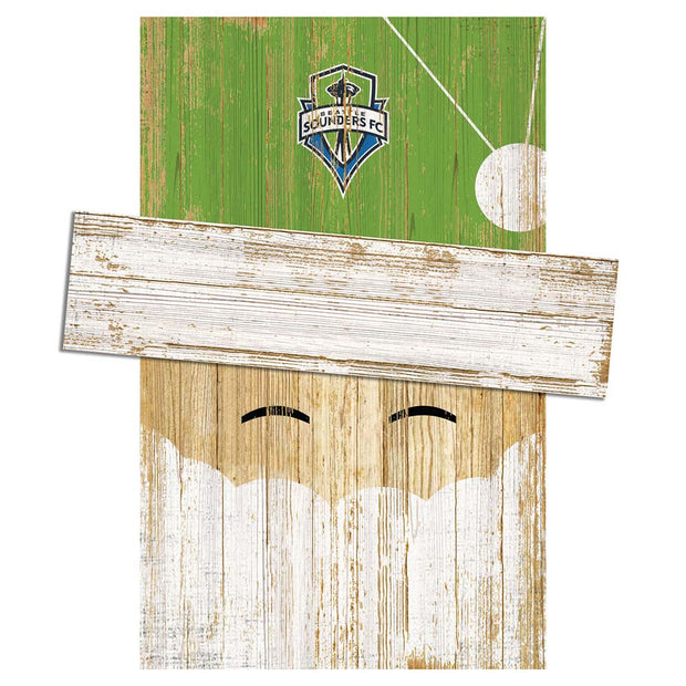 Seattle Sounders FC Santa's Day Off Wall Art - Team Sports Gift