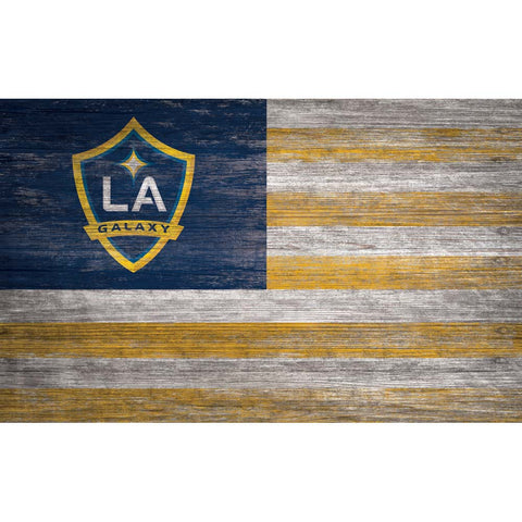 LA Galaxy Flag Wall Decor