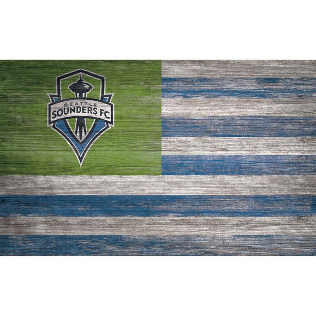 Seattle Sounders FC Flag Wall Decor