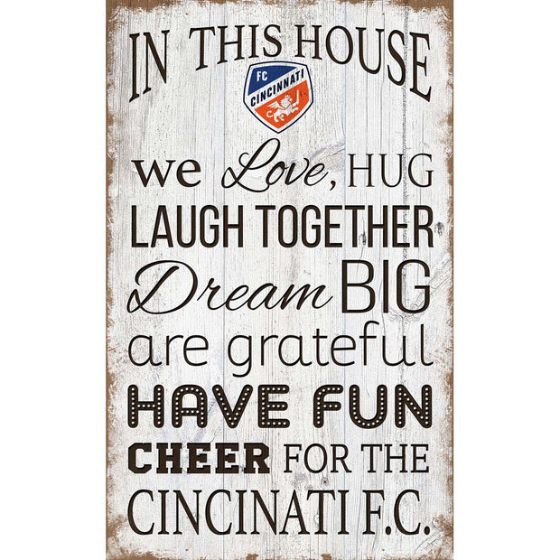 Chicago Bears House Rules Sign