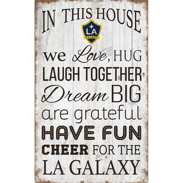 Denver Broncos House Rules Sign