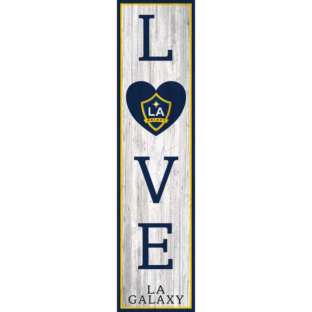LA Galaxy Love Leaner Sign