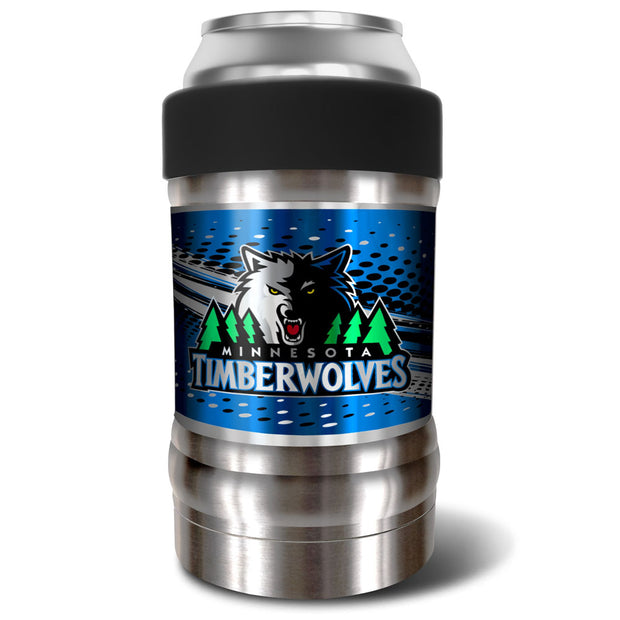 Minnesota Timberwolves Locker 12oz Can or Bottle Holder w/ Black Collar