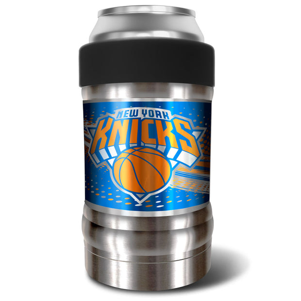 New York Knicks Locker 12oz Can or Bottle Holder w/ Black Collar