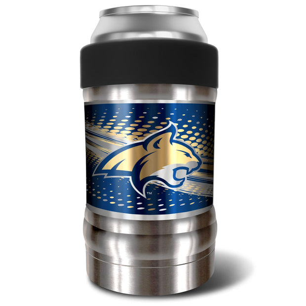 Montana State Bobcats Locker 12oz Can or Bottle Holder w/ Black Collar