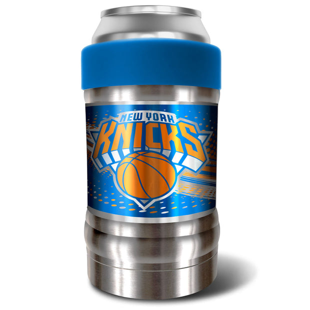 New York Knicks Locker 12oz Can or Bottle Holder w/ Blue Collar