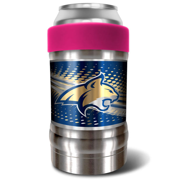 Montana State Bobcats Locker 12oz Can or Bottle Holder w/ Pink Collar