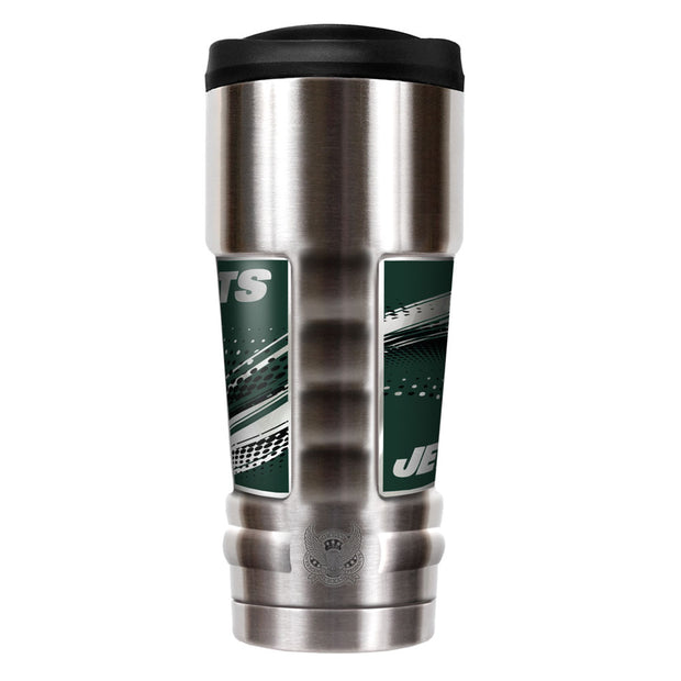 New York Jets MVP Travel Tumbler Back