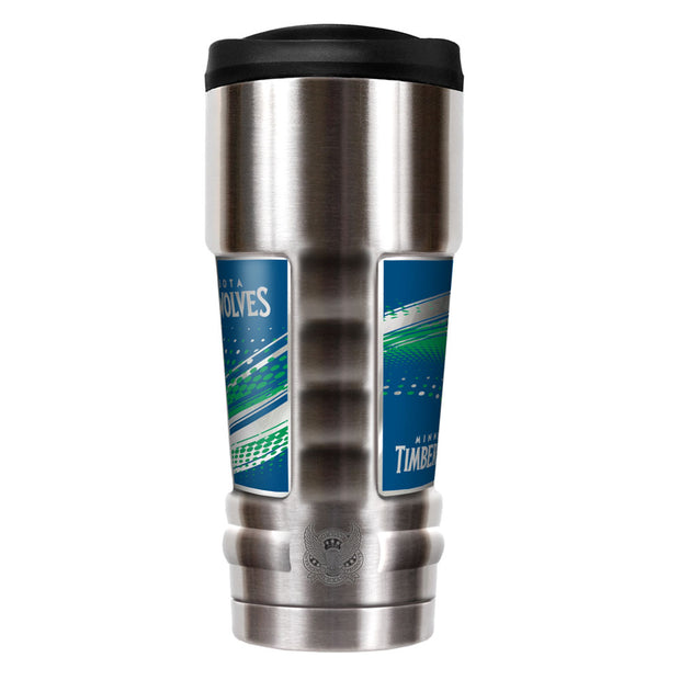 Minnesota Timberwolves MVP Travel Tumbler Back