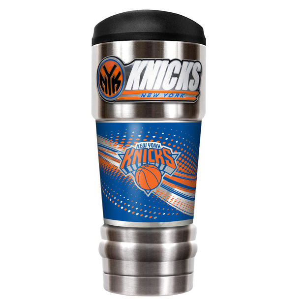 New York Knicks MVP Travel Tumbler Front