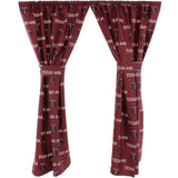 Texas A&M Aggies Window Curtain Panels