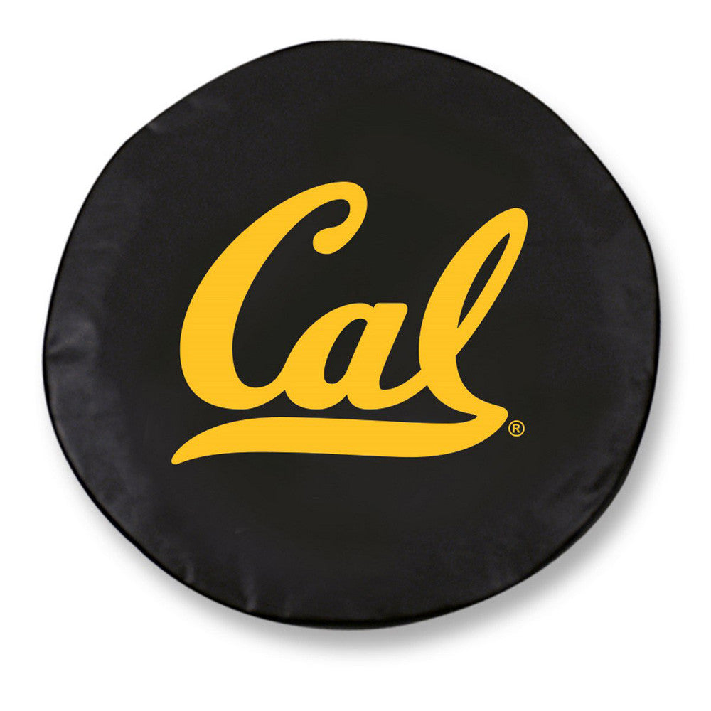 Cal Golden Bears Black Tire Cover w/ Security Grommets