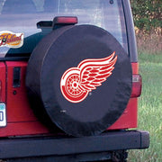 Detroit Red Wings Black Tire Cover