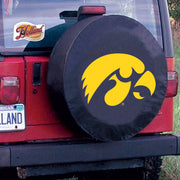 Iowa Hawkeyes Black Tire Cover
