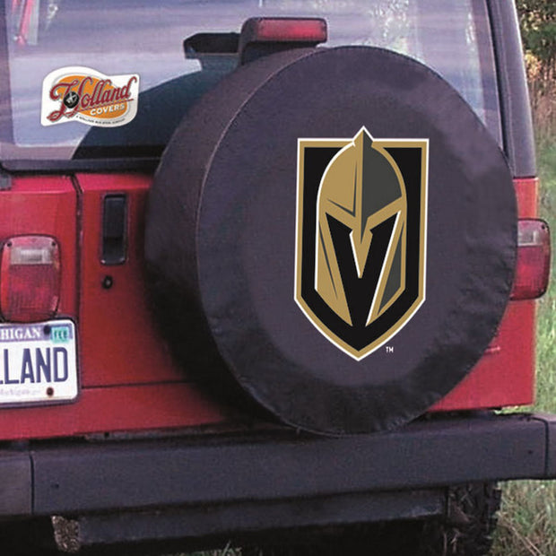 Vegas Golden Knights Black Tire Cover