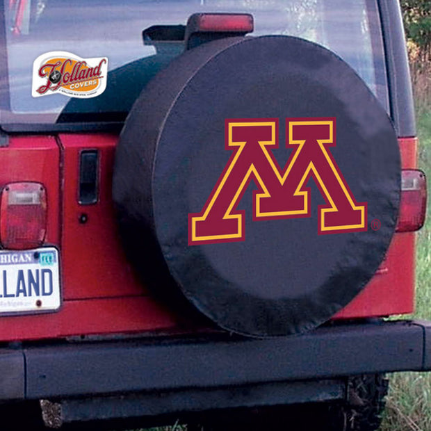Minnesota Golden Gophers Black Tire Cover