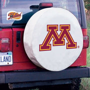 Minnesota Golden Gophers White Tire Cover