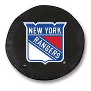 New York Rangers Black Tire Cover