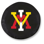 VMI Keydets Black Tire Cover