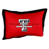 Texas Tech Red Raiders Team Logo Quilted Pillow Sham