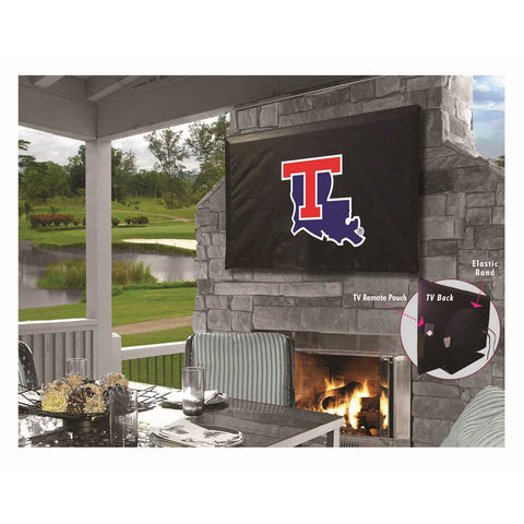 Louisiana Tech Bulldogs Indoor/Outdoor TV Cover
