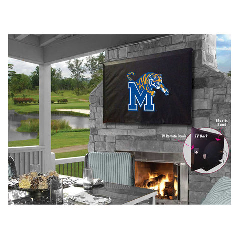 Memphis Tigers Indoor/Outdoor TV Cover