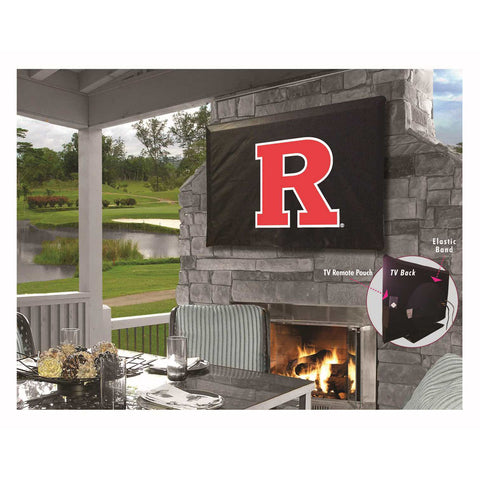 Rutgers Scarlet Knights Indoor/Outdoor TV Cover