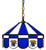 "16"" Kentucky Wildcats Pendant Lamp w/ Tiffany Shade - Team Sports Gift"