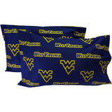 West Virginia Mountaineers Spirit Pillowcase