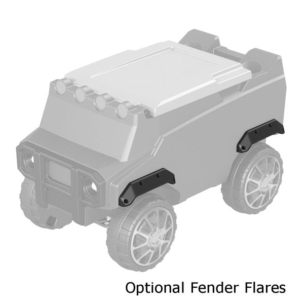 Fender Flares for ATV RC Cooler