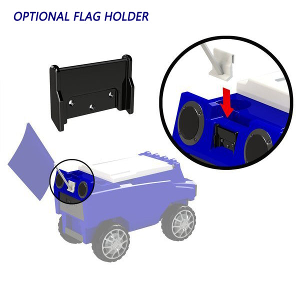 Flag Holder for Remote Control Cooler