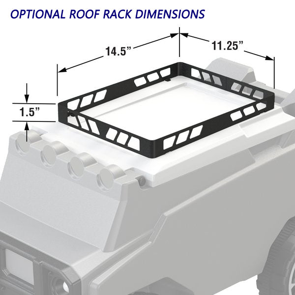 Roof Rack for Remote Control Cooler