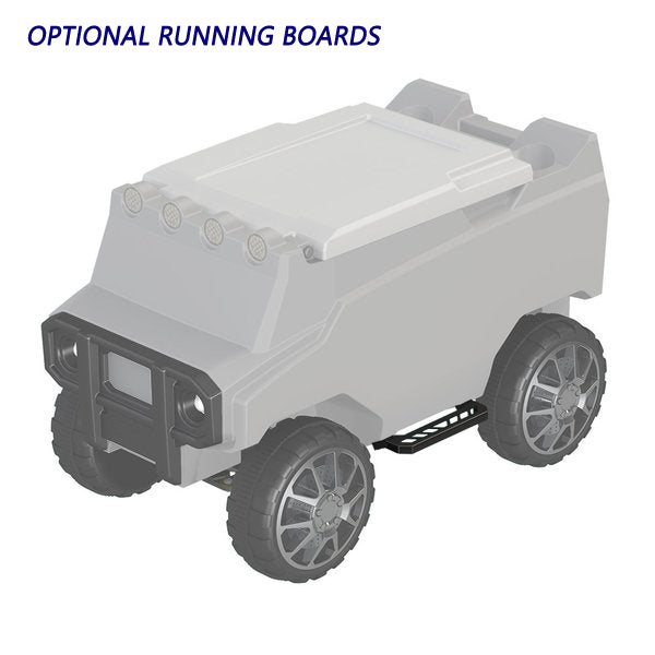 Running Boards for Remote Control Cooler
