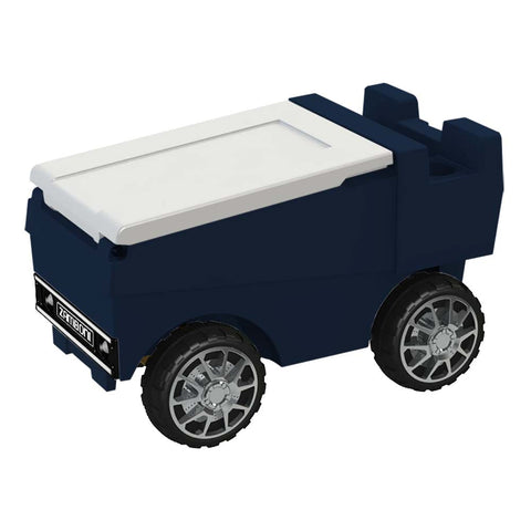 Remote Control Zamboni Ice Chest w/ Bluetooth in Navy & White