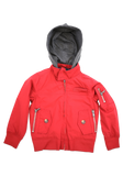 Toddler's Red Fashion Cotton Jacket with Hood