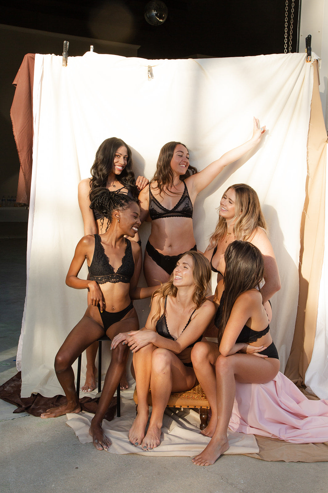 Group Photo from Fruity Boob-eez Shoot - Diverse group of women - Photography inspo