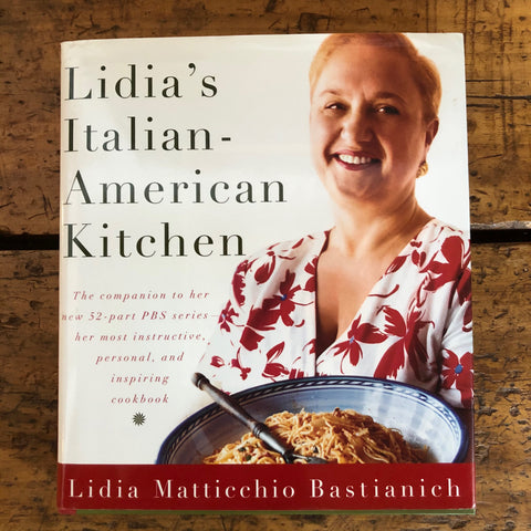 Lidia's cookbook