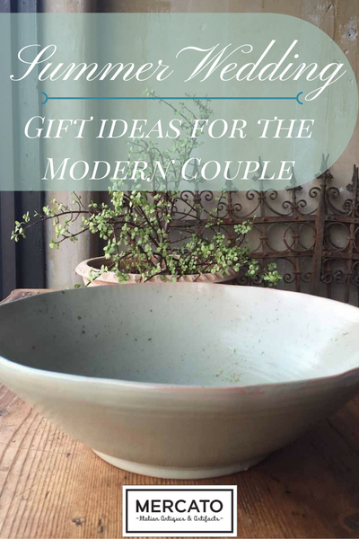Summer Wedding Gift Ideas for the Modern Couple