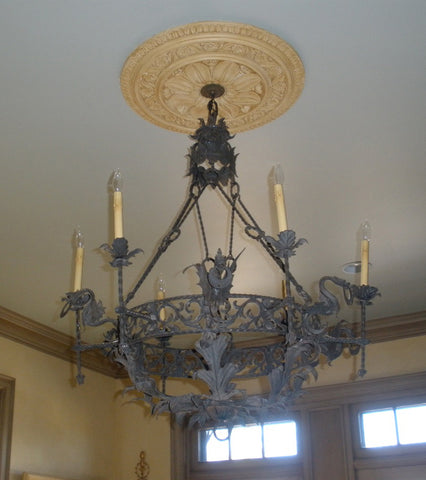 Decorating With Antique Light Fixtures - Italian light fixtures