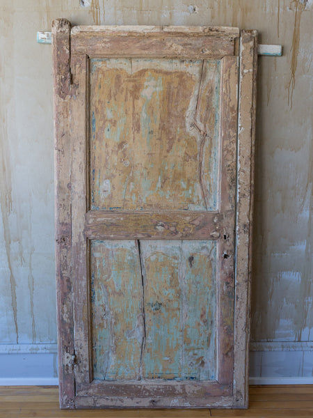 Antique Painted Door Architectural Salvage
