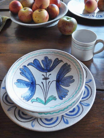 Italian Ceramics with a Floral Theme - Tre Fiori Dinnerware and Serveware