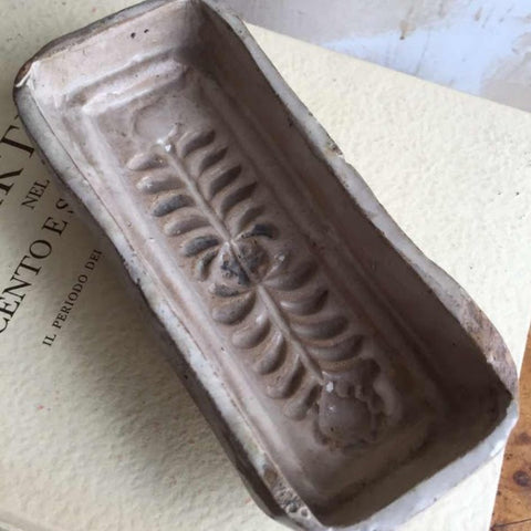 Antique Italian Pastry mold