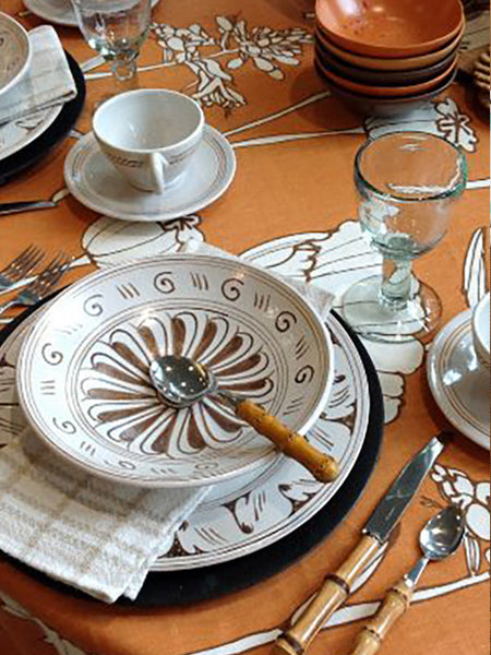 Graffita Dinnerware Set - Mercato Antiques - 1