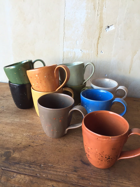 Colorful Mugs - Mercato Antiques - 1