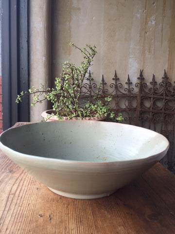Sage Green Serving Bowl - Large